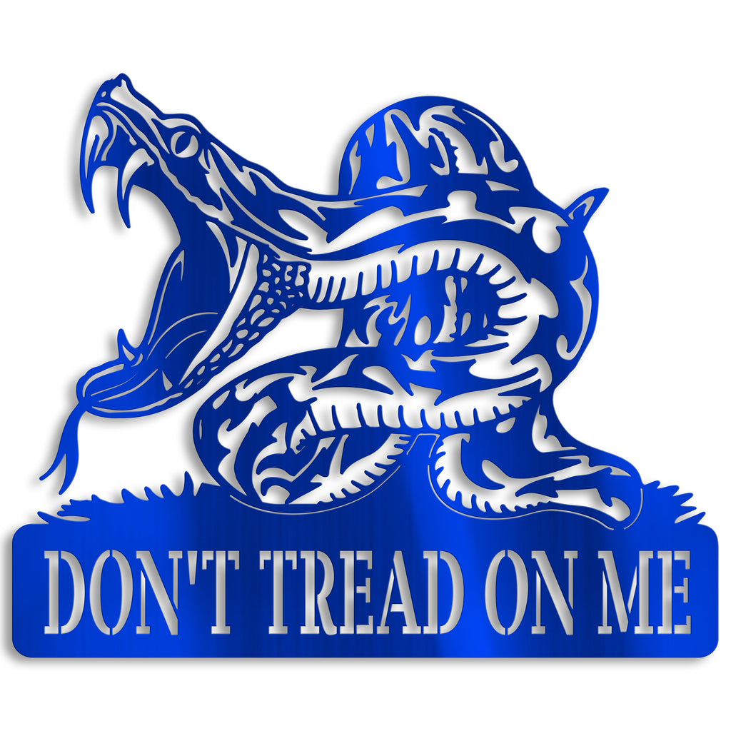 Don't Tread on Me Snake