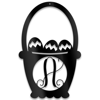 Easter Basket Monogram
