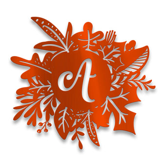 Autumn Wreath Monogram