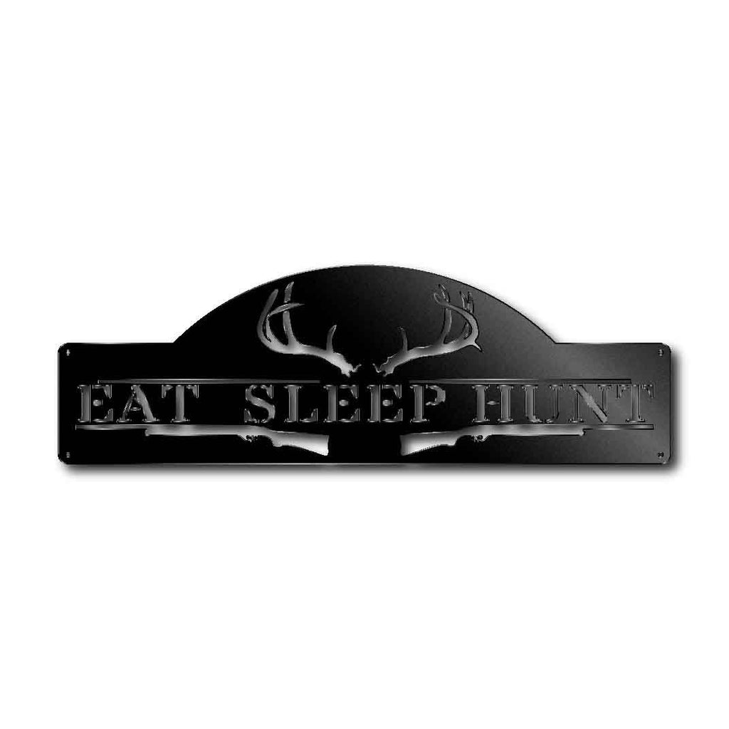 Eat Sleep Hunt  - Steel Living