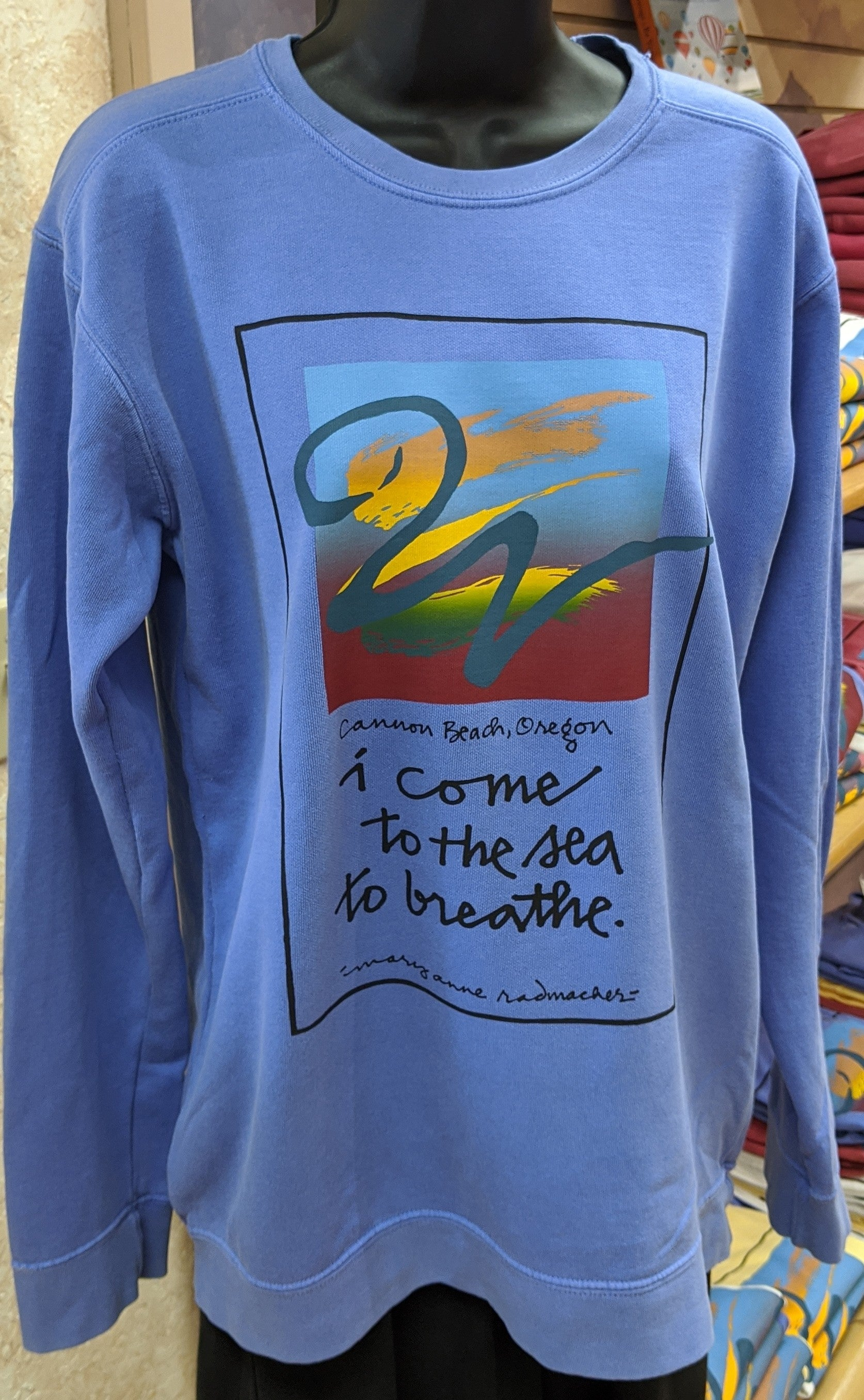 I Come to The Sea to Breathe Shirt/Hoodie (Fan Favorite!)