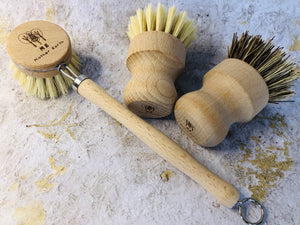 3 Pack Kit - Multipurpose + Wood Scrub Brush + Beechwood Sisal