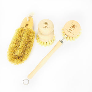 3 Pack Kit - Multipurpose Cleaner + Wood Scrub Brush + Beechwood Sisal
