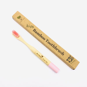 Colorful Bamboo Toothbrushes- For kids