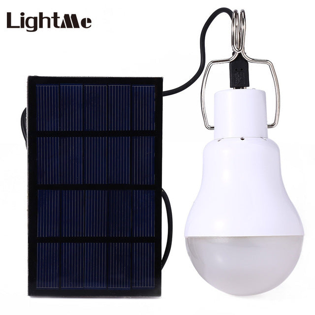 Rechargeable Portable Solar 15W 130LM LED Bulb