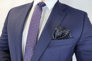 Feraud French Navy Fine Wool Suit