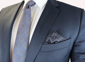 Feraud Kennedy Blue Fine Wool Suit