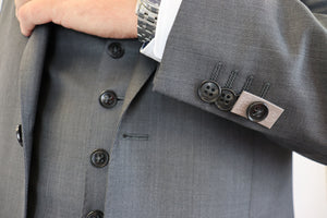 Feraud Mid-Grey Fine Wool Suit