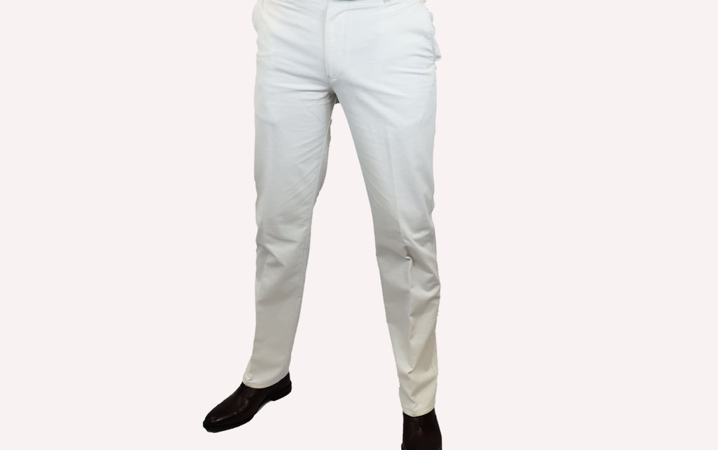 Bruhl White Summer Chino