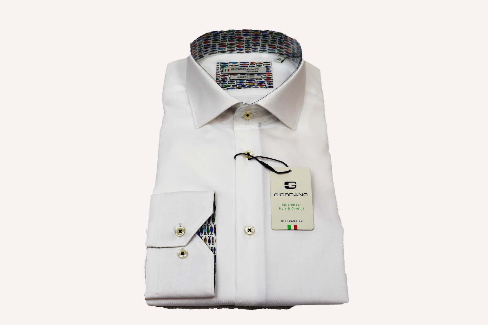 Giordano Modern Fit White