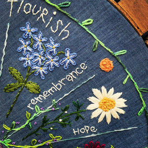 Forget Me Knot Free Embroidery Pattern