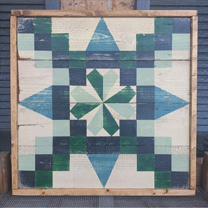 Irish Chain Barn Quilt