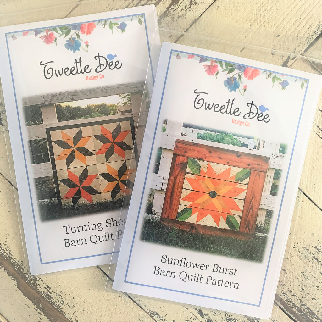 Two New Fall Barn Quilt Patterns