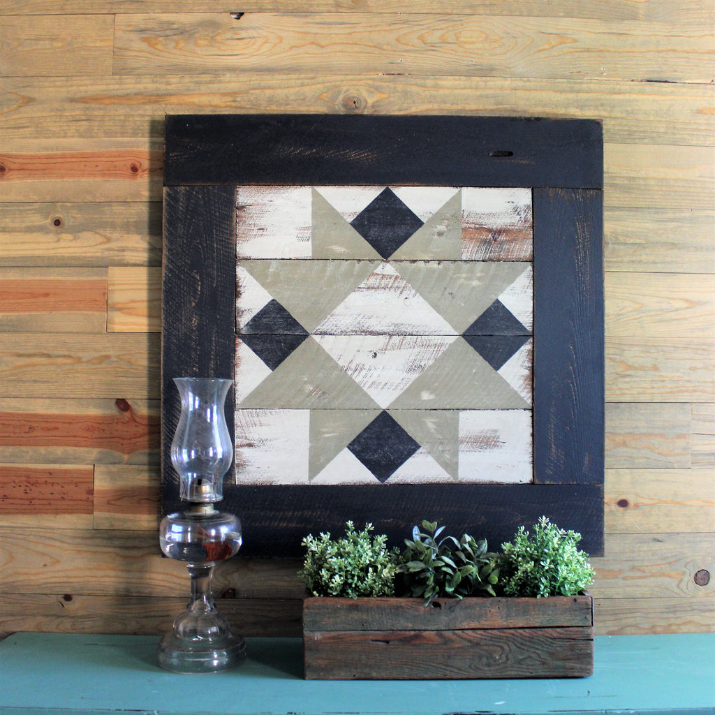 Homesteader's Star Barn Quilt