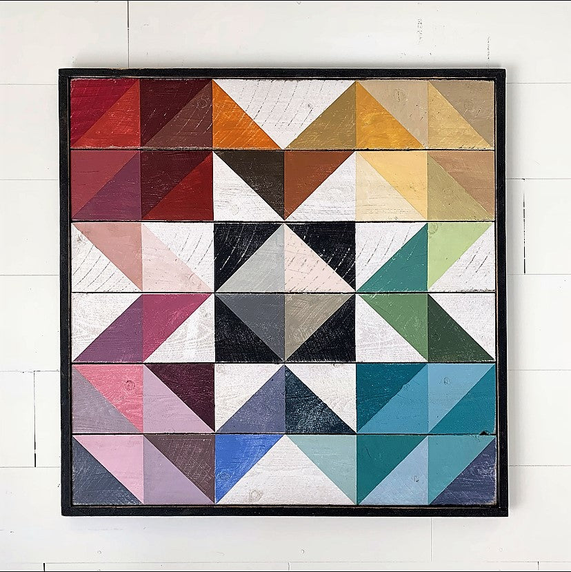 Prism Star Barn Quilt