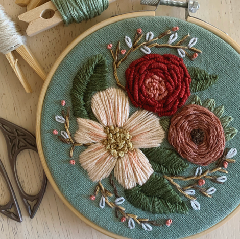 Embroidery, Quilts & Weaving