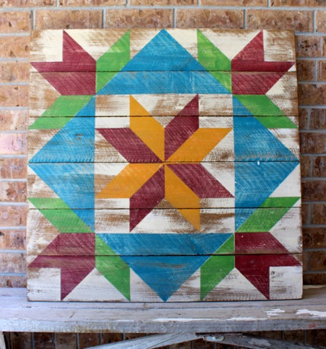 The Original Dutch Girl Barn Quilt