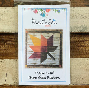Maple Leaf Barn Quilt Pattern