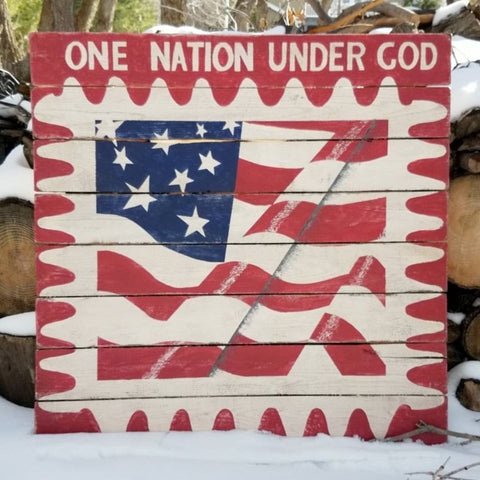 One Nation Barn Quilt