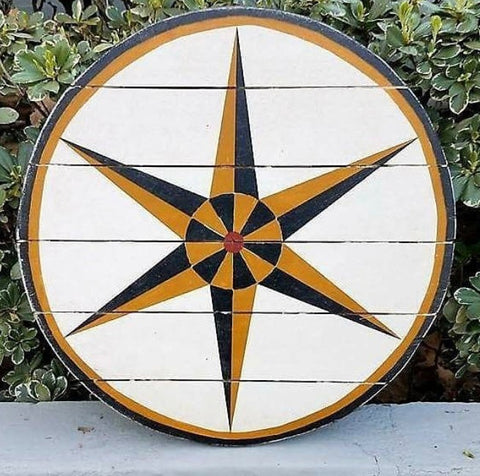 1849 Amish Hex Barn Star