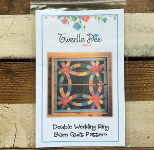 Double Wedding Ring Barn Quilt Pattern