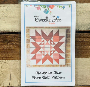 The Christmas Star Barn Quilt Pattern