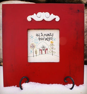 All is Merry and Bright Embroidery Pattern