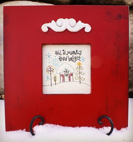 All is Merry and Bright Embroidery Kit