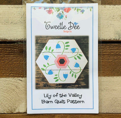 Lily of the Valley Barn Quilt Pattern