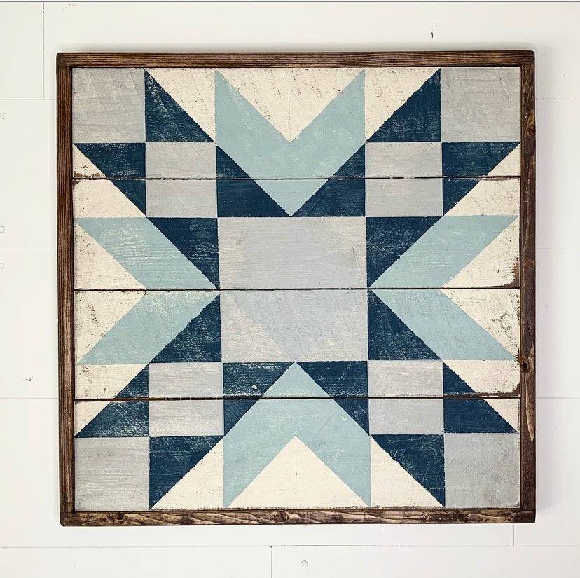 Soldier Hollow Star Barn Quilt