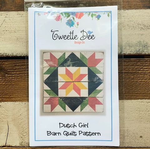 Dutch Girl Barn Quilt Pattern