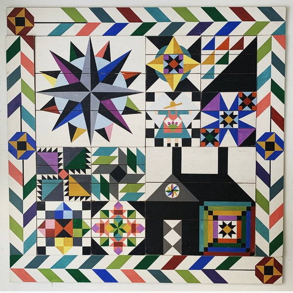 Little Cabin on the Prairie Barn Quilt & MCD Kit