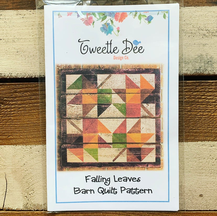 Falling Leaves Barn Quilt Pattern