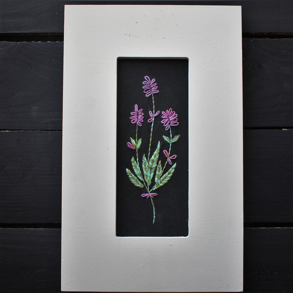 Belle Prairie Botanical Embroidery - Wild Lavender Kit