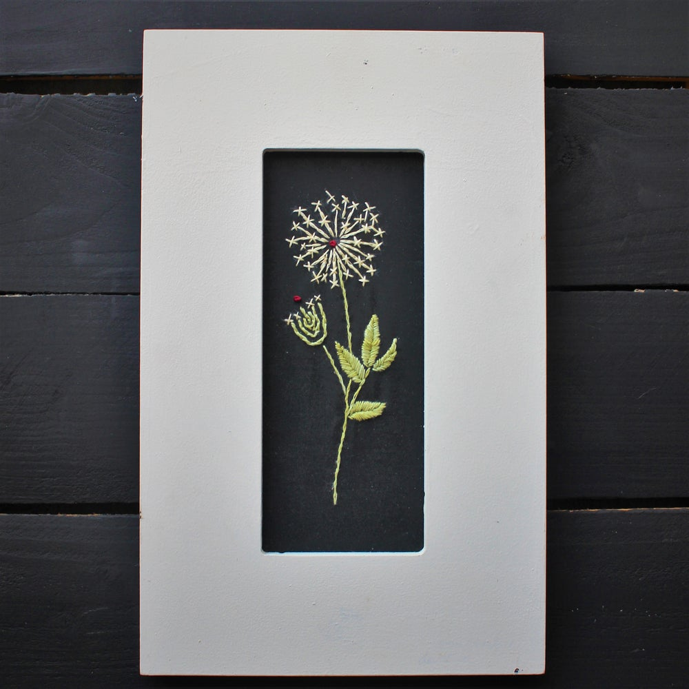 Belle Prairie Botanical Embroidery - Queen Anne's Lace Kit & Pattern