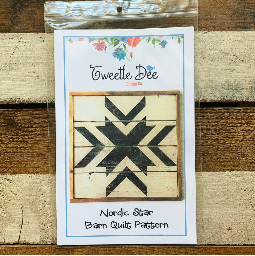 Nordic Star Barn Quilt Pattern