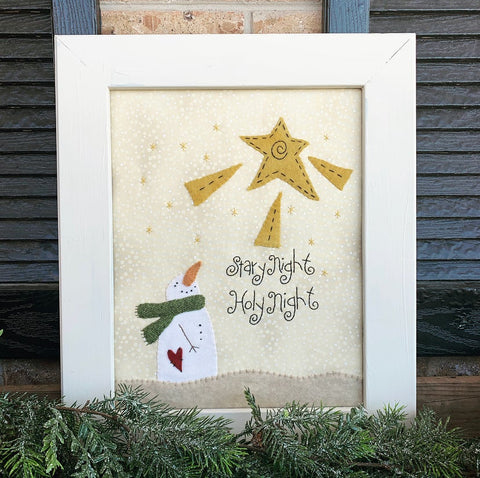 Start Night Embroidery Kit and Pattern