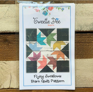 Flying Swallows Barn Quilt Pattern