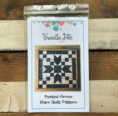 Pointed Arrow Barn Quilt Pattern