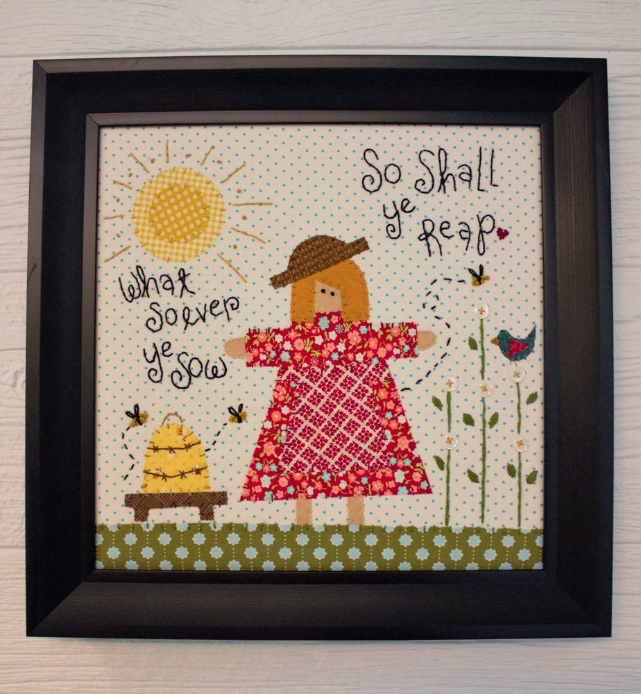 Whatsoever Ye Sow Embroidery Kit & Pattern