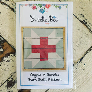 Angels in Scrubs Barn Quilt Pattern
