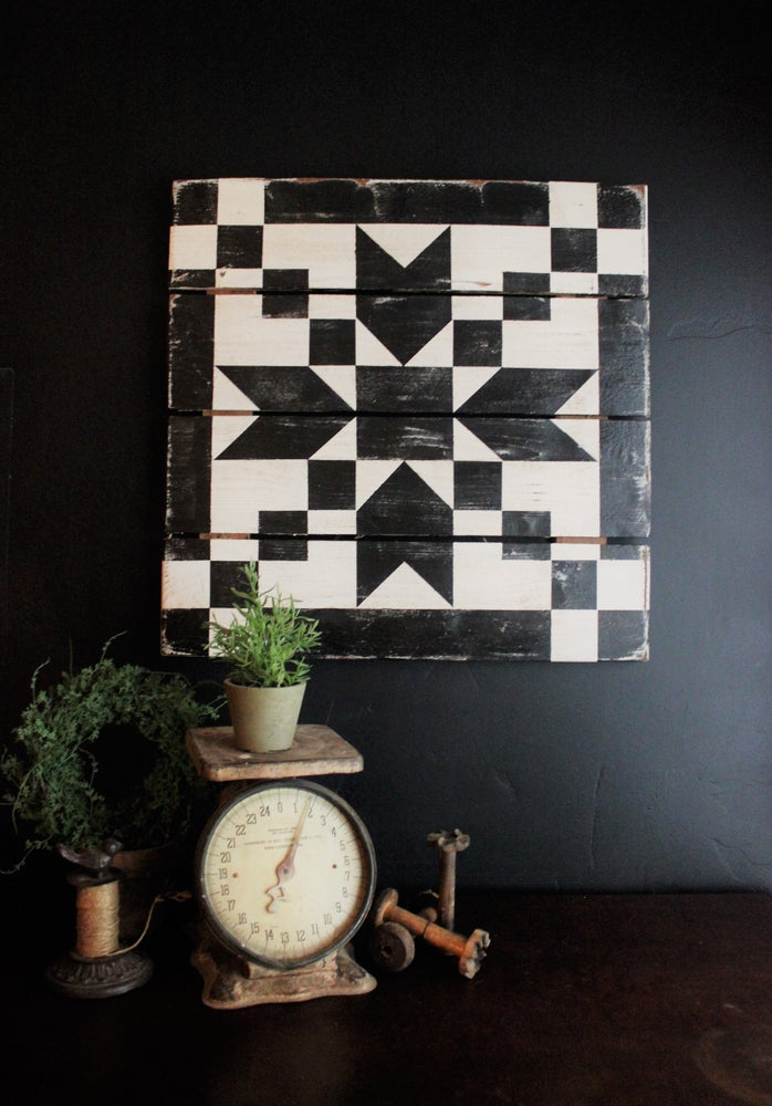Pointed Arrow Barn Quilt