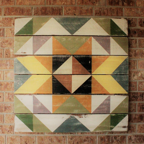 Autumn Fields Barn Quilt