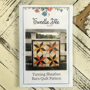 Turning Sheathes Barn Quilt Pattern