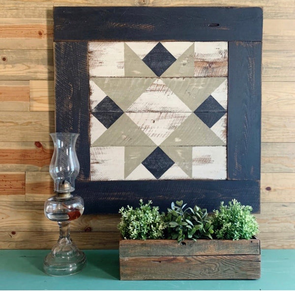 Homesteader's Star Barn Quilt Pattern