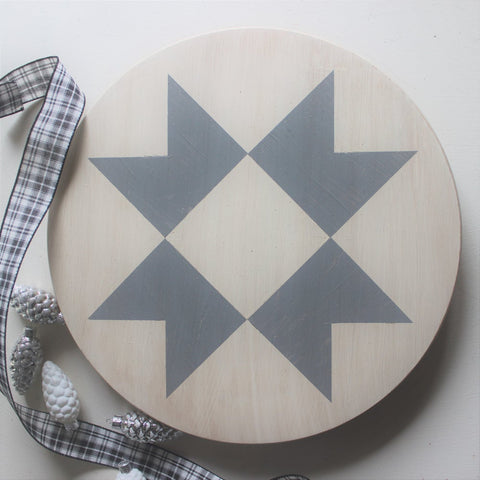 Farmhouse Star Lazy Susan