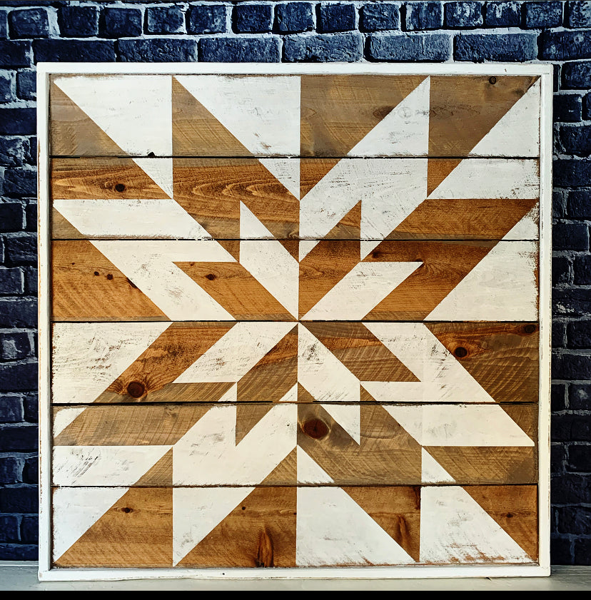 Eastern Star Barn Quilt