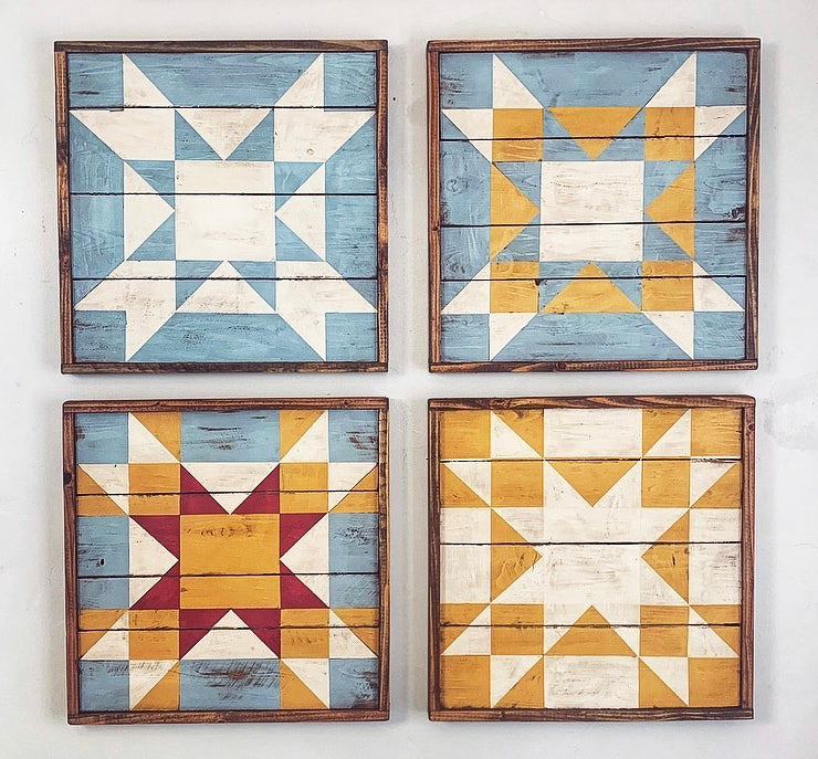 Amish Star Barn Quilt Collection