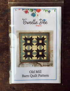 Old Mill Barn Quilt Pattern