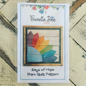 Rays of Hope Barn Quilt Pattern